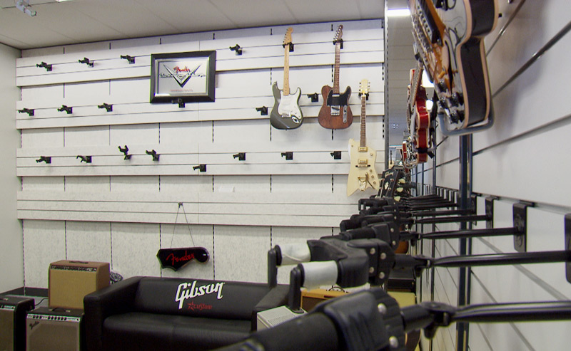 Gitarren gestohlen