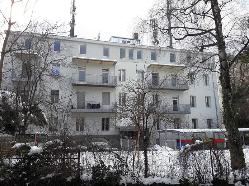 """""""Im Haus Maria – Leistbar Wohnen Lend""""  sind die ersten Wohnungen bereits bewohnt."""