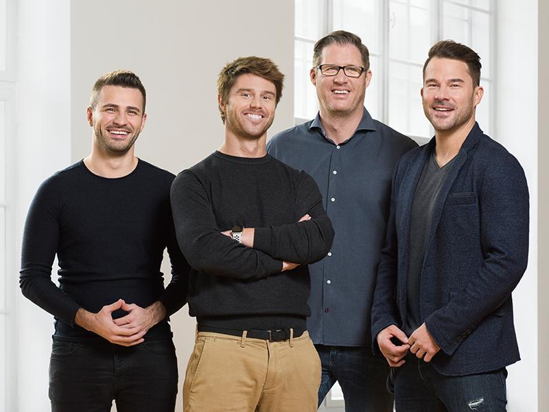 Adel Hafizovic, Manuel Zeller, Patrick Kolomaznik, Alexander Gänsdorfer
