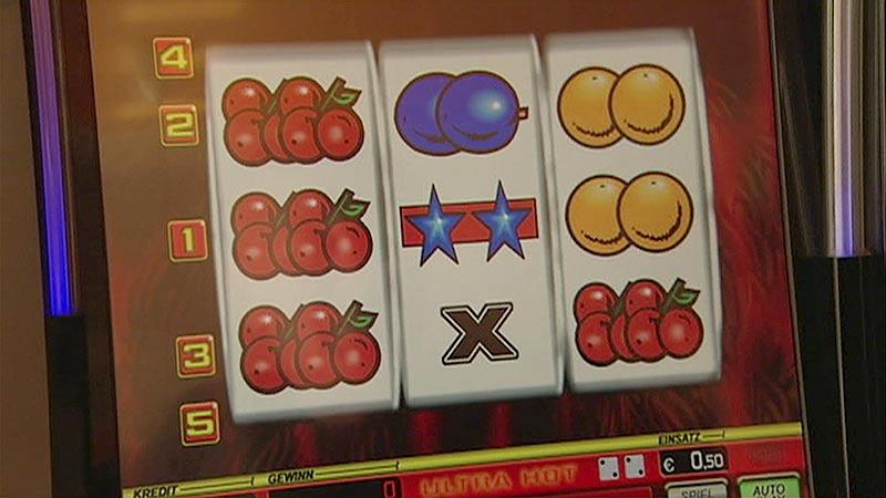 Glücksspiel illegal beschlagnahmt