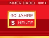 """Logo: 30 Jahre """"Salzburg heute"""""""