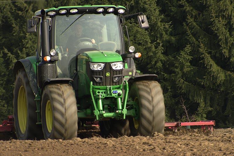 Verzögerte Vegetation Landwirtschaft