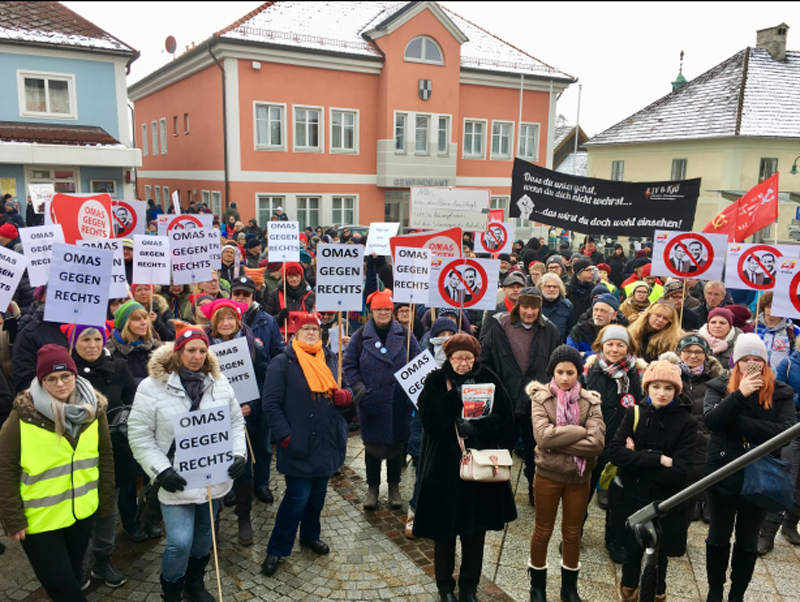 Kundgebung Aistersheim