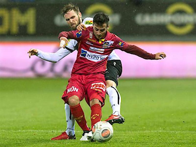 Bundesliga Altach SKN Sankt Pölten November 2017