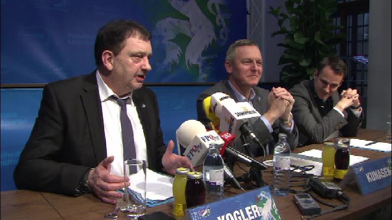 Pressekonferenz zu Wechsel des FPÖ-Landesgeschäftsführer