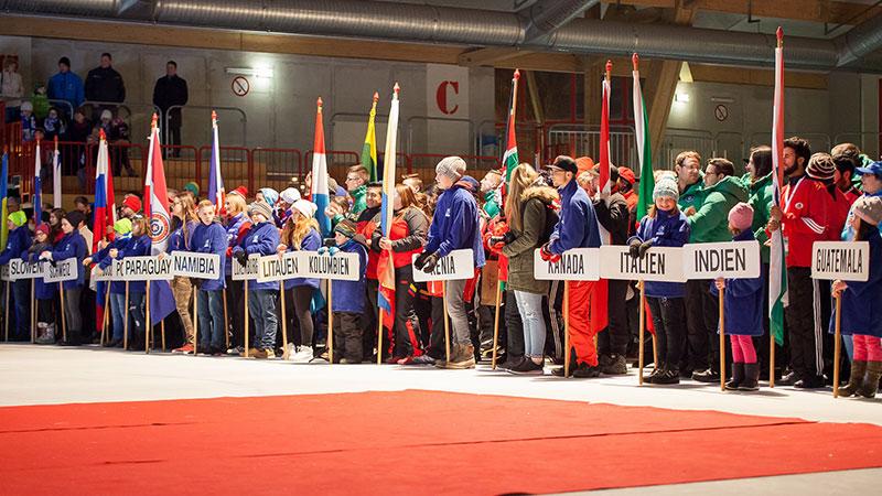 Eröffnung Eisstock WM