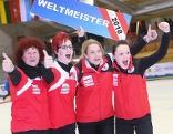Eisstock WM Weltmeister Österreich Damenteam Zielwettbewerb
