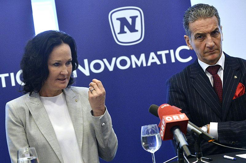 Eva Glawischnig und Harald Neumann