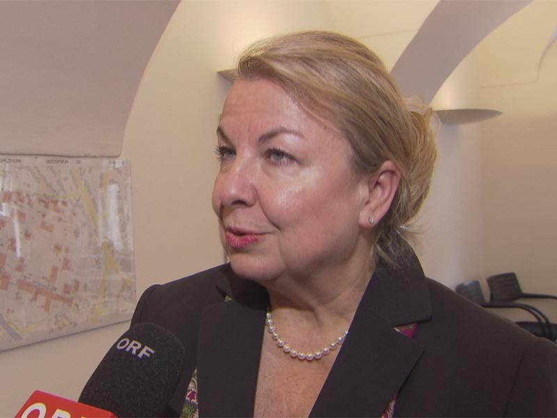 Gesundheitsministerin Beate Hartinger-Klein (FPÖ)