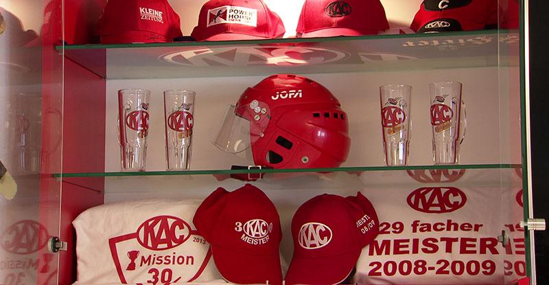 KAC Fan Stadion im Keller Bundeslandfenster