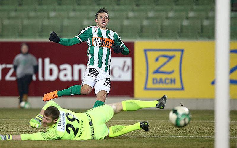 Mattersburg-Goalgetter Prevljak erwischte gegen die Admira einen perfekten Tag