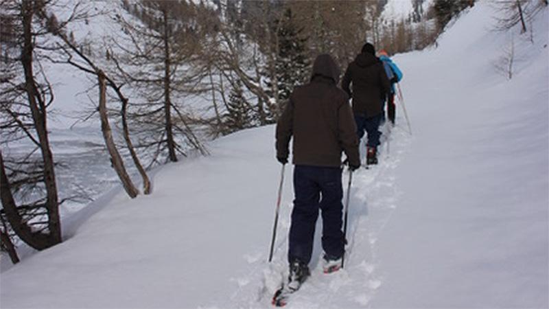 Location Scout Schneeschuhwandern Wurthenspeicher