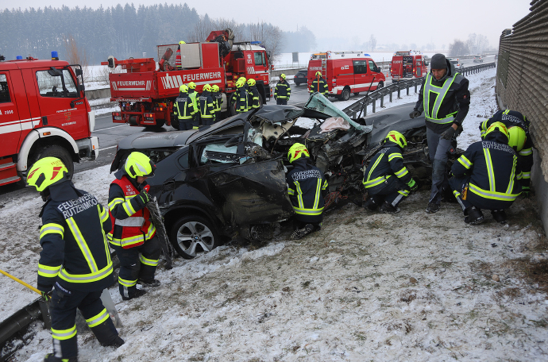 VU A1 bei Ohlsdorf/Regau
