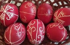 Húsvéti tojásírás Alsóőrben