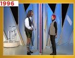 "Petra Grandits Auftritt in der TV-Show ""Herzblatt"""