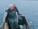Die Fischer Karl und Renate Schöringhumer aus Unterach am Attersee.