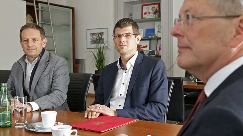 Gespräch Gruber Benger Kaiser SPÖ ÖVP