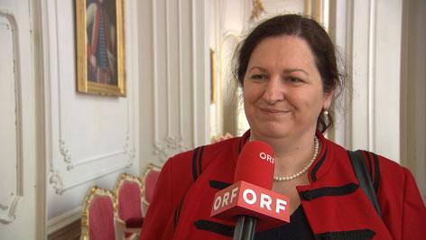 Zsótér Iris, a BMKE elnöke