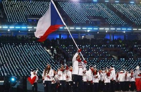 Tschechisches Team Olympischen Spiele