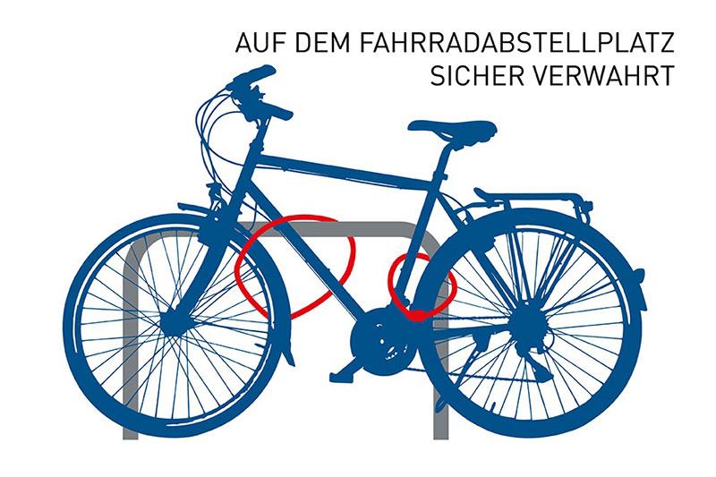 Grafik zur Fahrradsicherheit