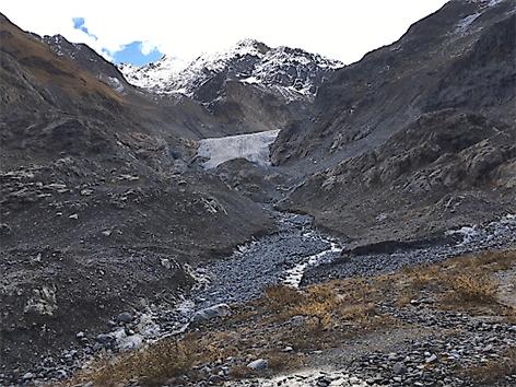 Hitzesommer lässt Gletscher stärker schmelzen