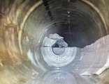 WC Kanal zubetoniert Verzögerung