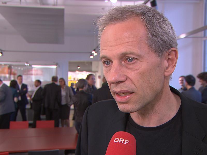 Der Architekt Dietmar Feichtinger