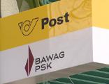 Filiale der Post und BAWAG PSK