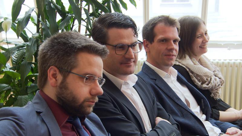 Matthias Wagner, Christoph Carić, Štefan Bubić i Viktorija Kuzmić