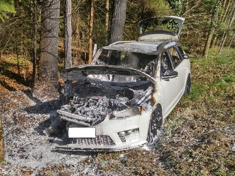 Unfall bei Hohlbach