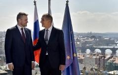 Babiš a Pellegrini | Český a slovenský premiér vedle sebe
