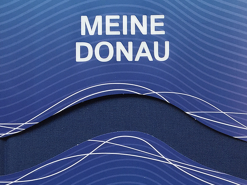 Literaturedition Buch Meine Donau