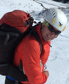 Hannes Reissegger Skitourengeher