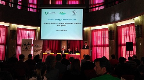 Nuclear Energy Conference 2018 in Prag