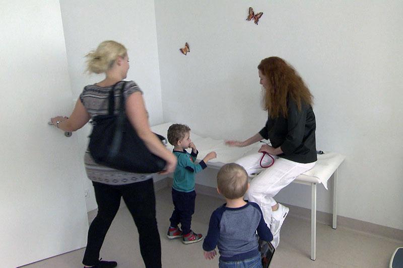 Pediatrician child care management