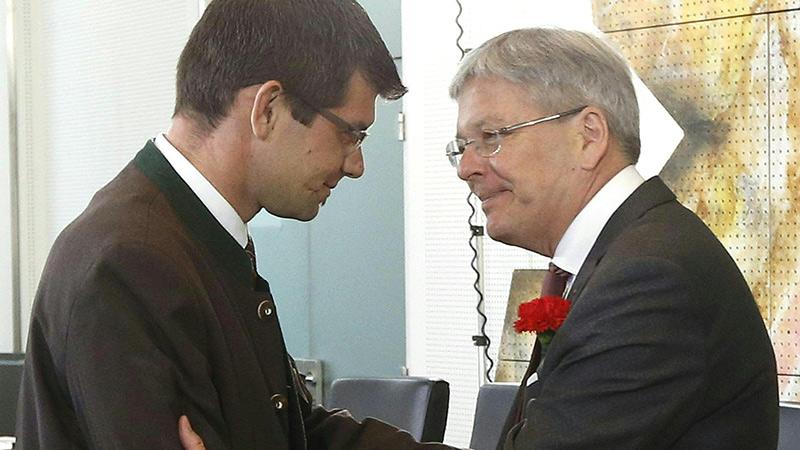 Gruber ÖVP Kaiser SPÖ