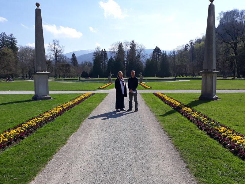 Christian Stadler, Ingrid Sonnvilla, Schloss Hellbrunn