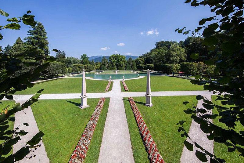 Schloss Hellbrunn; Wasserspiele