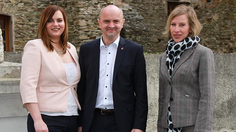 Astrid Eisenkopf, Heinz Josef Zitz und Ursula Gamauf