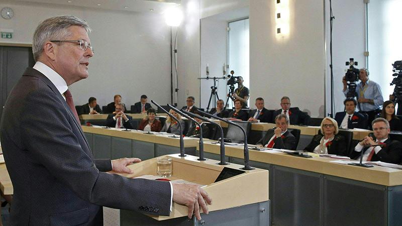 Peter Kaiser Landtag Antrittsrede