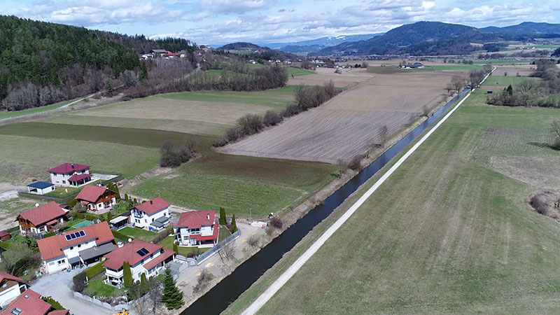 Karnburg Hochwasserschutz