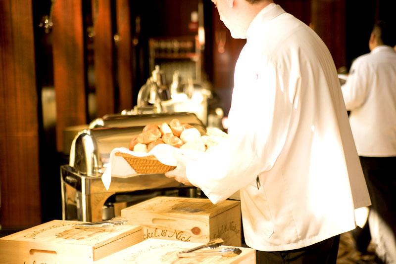 Kellner in Gastronomie