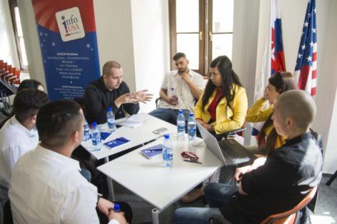Kongress der jungen Roma, Bratislava 6.4.2018