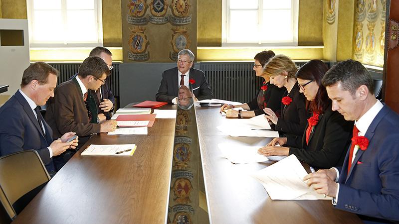 SPÖ Regierungsmannschaft
