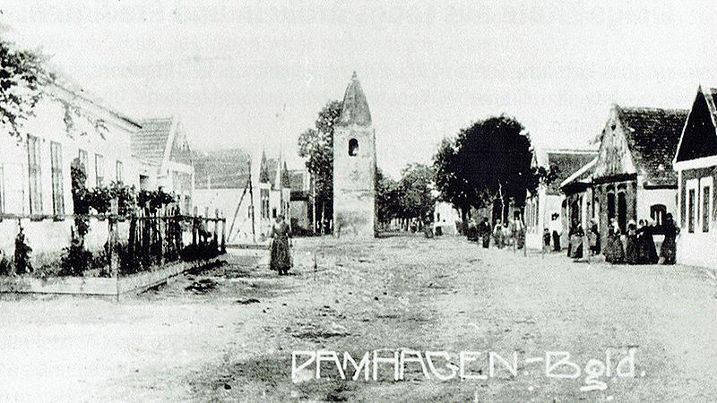 Alte Postkarte von Pamhagen