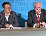 Wiens Bürgermeister Michael Häupl und Bildungsstadtrat Jürgen Czernohorszky