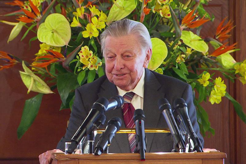 Hugo Portisch Ehrenbürger von Wien