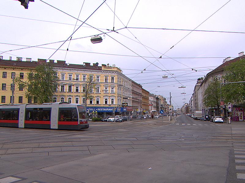 Quellenplatz und Quellenstraße in Wien-Favoriten