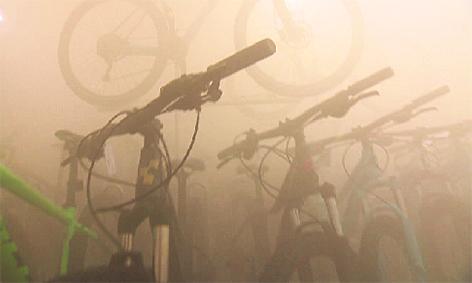 Nebelmaschine Fahrradgeschäft Einbruch Einbrüche