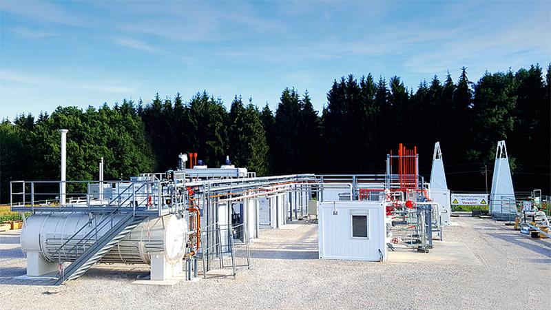 Forschungsanlage Underground Sun Storage